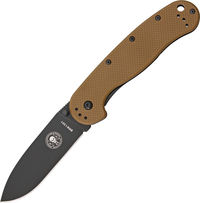 Nůž Esee Avispa Coyote Brown - Black - D2