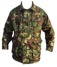 Britská armádní bunda 95 Ripstop DPM - originál