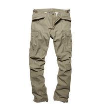 Kalhoty Vintage Industries M65 Heavy Satin - olivové