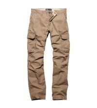 Kalhoty Vintage Industries Reef - dark khaki
