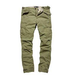 Kalhoty Vintage Industries Miller M65 - olive drab