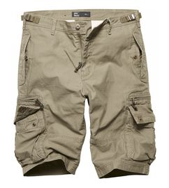 Kraťasy Vintage Industries Gandor shorts - olivové