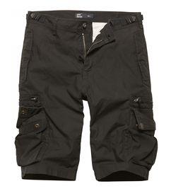 Kraťasy Vintage Industries Gandor shorts - černé