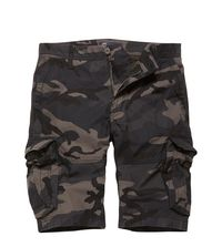 Kraťasy Vintage Industries Rowing shorts - dark camo