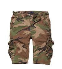 Kraťasy Vintage Industries Terrance shorts - woodland