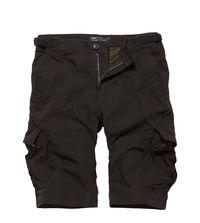 Kraťasy Vintage Industries Terrance shorts - černé