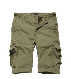 Kraťasy Vintage Industries Terrance shorts - olive drab
