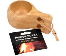 Savotta finská dřevěná Kuksa 150ml