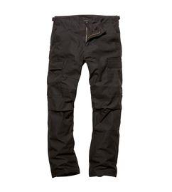 Kalhoty Vintage Industries BDU černé