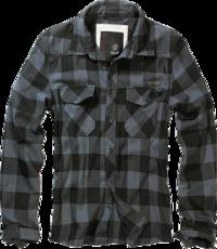 Brandit Check Shirt černo/šedá kostka