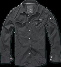 Brandit SlimFit Shirt černá