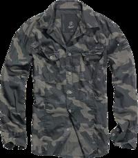 Brandit SlimFit Shirt darkcamo