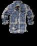 Brandit Check Shirt modrá kostka