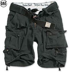 Surplus Division Shorts Belted černé