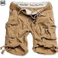Surplus Division Shorts Belted béžové