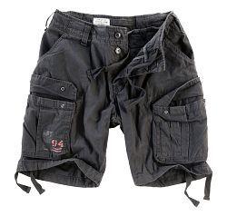 Surplus Airborne Shorts černé