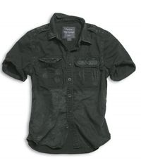 Surplus košile černá Raw Vintage Shirt 1/2