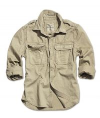 Surplus košile béžová Raw Vintage Shirt 1/1