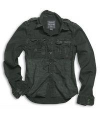 Surplus košile černá  Raw Vintage Shirt 1/1