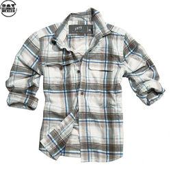 Surplus košile Woodcutter hnědá