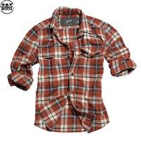 Surplus košile Woodcutter červená