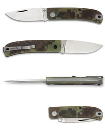 Manly WASP slipjoint - CPMS90V Desert Camo