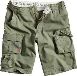 Surplus Trooper Shorts olivové