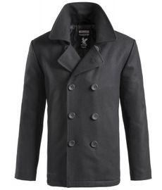 Surplus Pea Coat černý