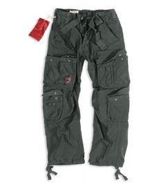 Surplus Airborne Trousers černé