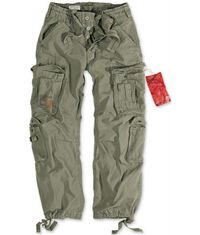 Surplus Airborne Trousers olivové