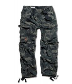 Surplus Airborne Trousers blackcamo
