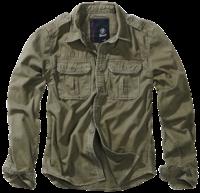 Brandit Vintage Shirt longsleeve olivová