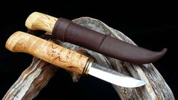 WoodsKnife Perinnepuukko 77mm