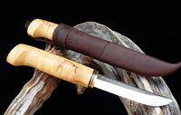 WoodsKnife Perinnepuukko 105mm