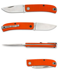 Manly WASP slipjoint - 14C28N Orange