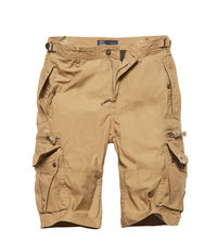 Kraťasy Vintage Industries Gandor shorts - safari
