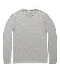 Vintage Industry triko Jean long sleeve shirt šedé