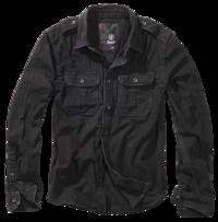 Brandit Vintage Shirt longsleeve černá