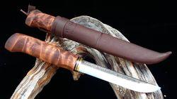 WoodsKnife tradiční Perinnepuukko 125mm hnědý