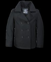 Kabát Brandit Pea Coat černý