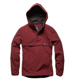 Hopwood anorak - burgundy