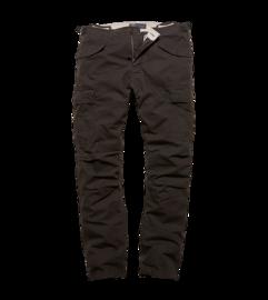 Kalhoty Vintage Industries Miller M65 - černé
