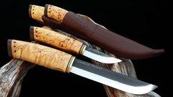 WoodsKnife Lapp knife Double 145/69mm