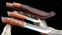 Woodsknife Big hunting puukko double 145/84mm