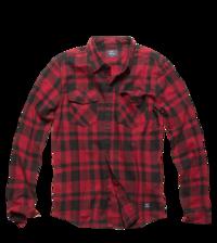 Košile Austin kostkovaná červená