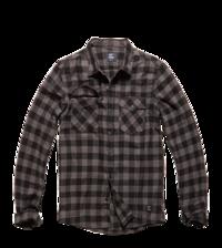Košile Harley kostkovaná šedá