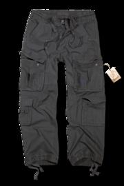 Kalhoty Brandit Pure Vintage antracitové