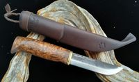 WoodsKnife Bear paw puukko 120mm