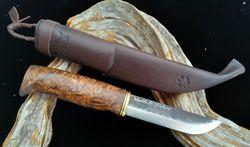 WoodsKnife Bear paw puukko 120mm