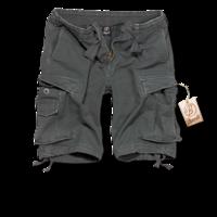 Brandit Vintage Shorts antracitové